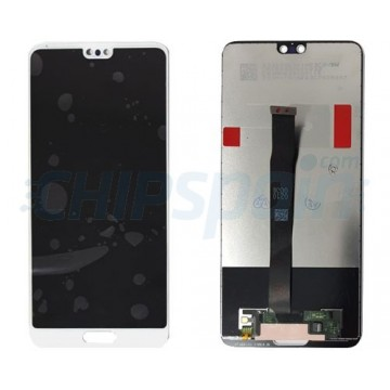 LCD Screen + Touch Screen Digitizer Assembly Huawei P20 White