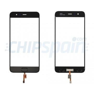 Front Screen Outer Glass Xiaomi Mi6 with Home Button Black