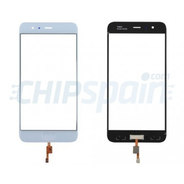 Front Screen Outer Glass Xiaomi Mi6 with Home Button White
