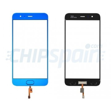 Front Screen Outer Glass Xiaomi Mi6 with Home Button Blue