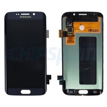 Pantalla Samsung Galaxy S6 Edge G925F Completa Azul Oscuro