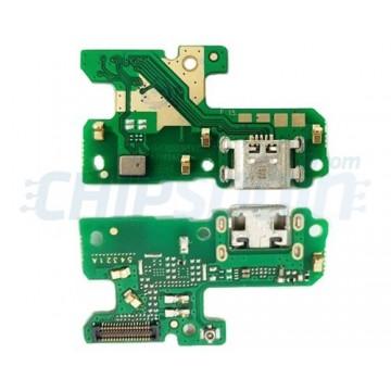 Connector Flex Carregamento e Microfone Huawei P8 Lite 2017 / P9 Lite 2017