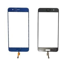 Cristal Exterior Pantalla Xiaomi Mi Note 3 con Boton Home Azul