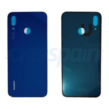 Tampa Traseira Bateria Huawei P20 Lite Azul