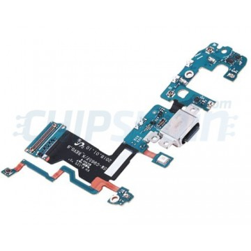 Connector Flex Carregamento e Microfone Samsung Galaxy S9 Plus G965F