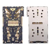 SIM, Micro SD cartão módulo interno do leitor Sony Xperia X / XZ / X Premium / XZ1