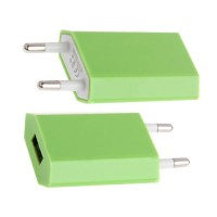 Power Adapter to USB Green