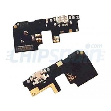 Placa con Conector de Carga USB y Micrófono Xiaomi Redmi 5 Plus