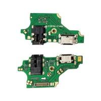 Connector Flex Carregamento Tipo C e Audio Jack Huawei P20 Lite