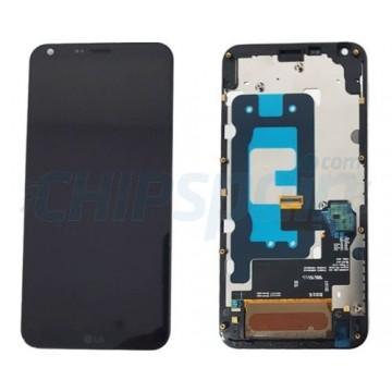 Full Screen with Frame LG Q6 / Q6 Plus Black