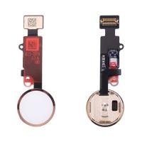 Botão Home Completo com Flex iPhone 8 Plus Ouro