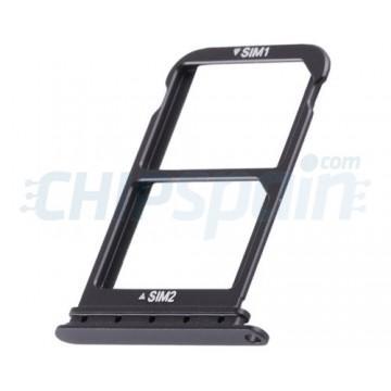Dual Tabuleiro para cartão SIM Huawei P20 Pro Preto