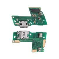 Placa con Conector Carga Micro USB y Micrófono Huawei Y6 Pro 2017