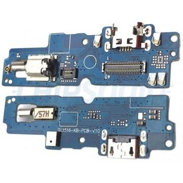 Connector Carregamento, Vibrador e Microfone Asus Zenfone 4 Max Pro ZC554KL