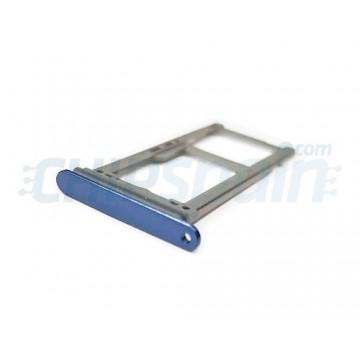 Tabuleiro para cartão SIM e Micro SD Samsung Galaxy S9 / S9 Plus Azul