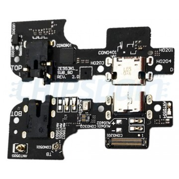 Conector Carga y Micrófono Asus Zenfone 3 Zoom ZE553KL