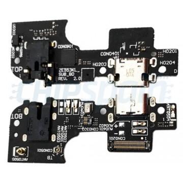 Connector Carregamento e Microfone Asus Zenfone 3 Zoom ZE553KL
