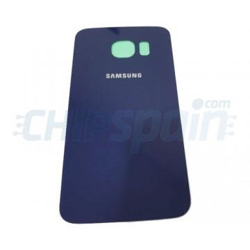 Tapa Trasera Batería Samsung Galaxy S6 Edge G925F Azul