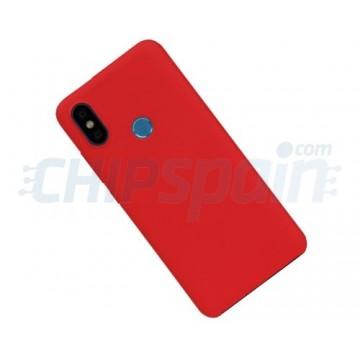 Caso Xiaomi Mi 6X / Mi A2 Vermelho Original