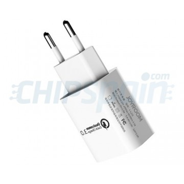 Adaptador USB de Carregamento Rápido Inteligente 2A