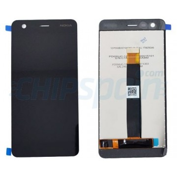 LCD Screen + Touch Screen Digitizer Assembly Nokia 2 Black