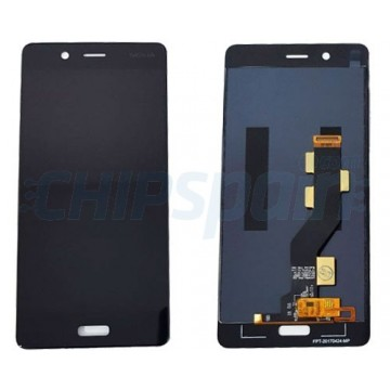 LCD Screen + Touch Screen Digitizer Assembly Nokia 8 Black