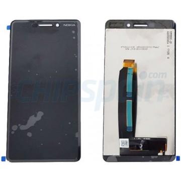 LCD Screen + Touch Screen Digitizer Nokia 6 2018 Black