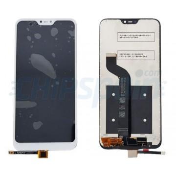 Ecrã Tátil Completo Xiaomi Mi A2 Lite (Redmi 6 Pro) Branco