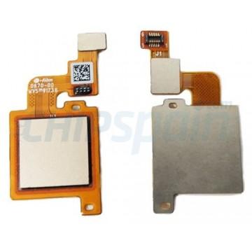 Botão Home Completo com Flex Xiaomi Mi 5X / Mi A1 Ouro