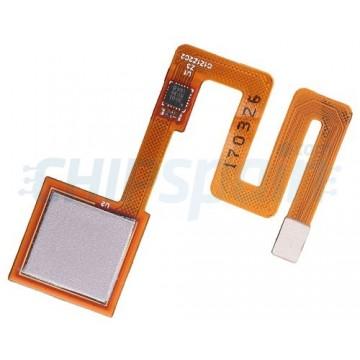 Full Home Button Flex Xiaomi Redmi Note 4 Silver