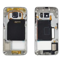 Carcasa Central Intermedia Samsung Galaxy S6 Edge (G925F) Azul