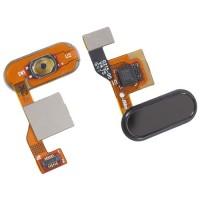 Botão Home Completo com Flex Xiaomi Mi Note 2 Preto
