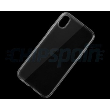 Funda iPhone X iPhone XS Ultra-Fina de TPU Transparente
