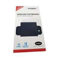 Wireless Keyboard USB Handheld Gamepad Nintendo Switch Black