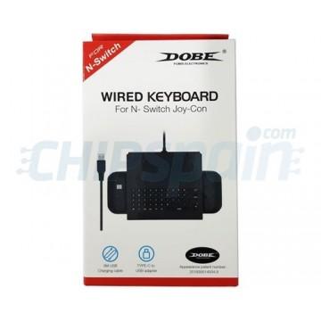 Wired Keyboard USB Handheld Gamepad Nintendo Switch Black