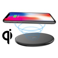 iPhone Smartphone Wireless Charging Base Black