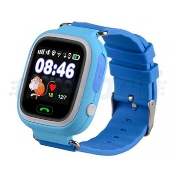 Smartwatch GPS Clock with Locator for Children Blue