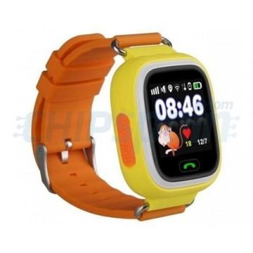 Smartwatch GPS Clock with Locator for Children Orange