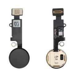 Botón Home Completo con Flex iPhone 8 Negro