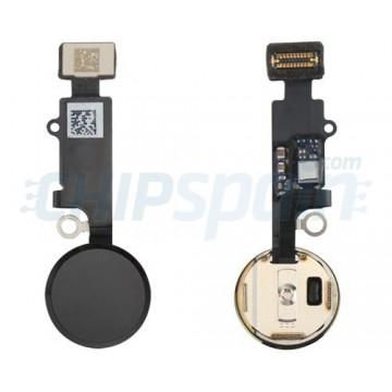 Botão Home Completo com Flex iPhone 8 Preto