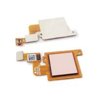 Botão Home Completo com Flex Xiaomi Mi 5X / Mi A1 Ouro Rosa
