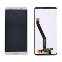 LCD Screen + Touch Screen Huawei Y6 2018 White