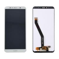 LCD Screen + Touch Screen Huawei Y6 2018 White