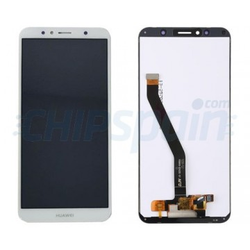 Ecrã Tátil Completo Huawei Y6 2018 / Y6 2019 / Honor 7A Branco