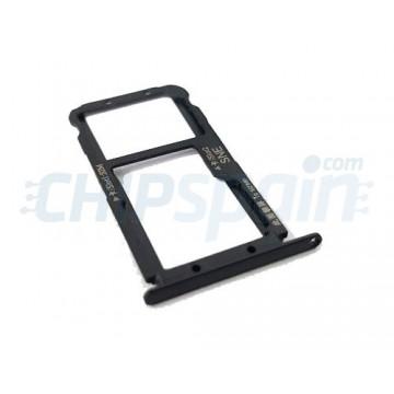 Tabuleiro para cartão SIM e Micro SD Huawei Mate 20 Lite Preto