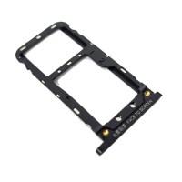 Tabuleiro para cartão SIM e Micro SD Xiaomi Mi Max 3 Preto