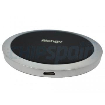 Base Carga Inalambrica Smartphone Richgv Premium Negro