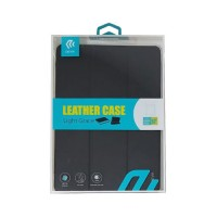 """Leather Case iPad Pro 9.7"""" Devia Premium Black"""