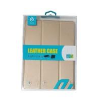 """Leather Case iPad 9.7"""" Devia Premium Gold"""