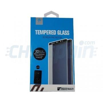 Protector Pantalla Cristal Templado Samsung Galaxy Note 9 Negro Devia Premium